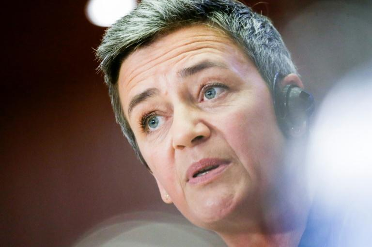 The EU's competition commissioner, Margrethe Vestager, says there are 'many concerns when it comes to Apple Pay' (AFP Photo/Aris Oikonomou )