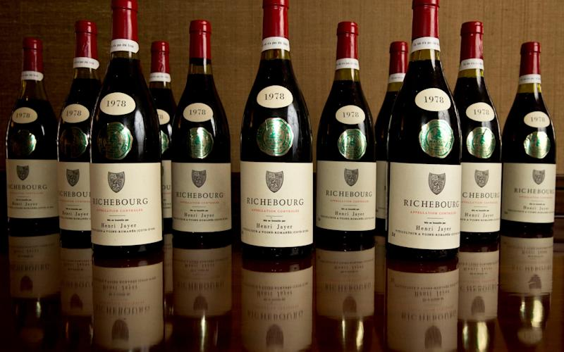 Wines from Burgundy featuring rare vintages from Henri Jayer and Domaine de la Romanee Conti - Credit: Heathcliff O'Malley