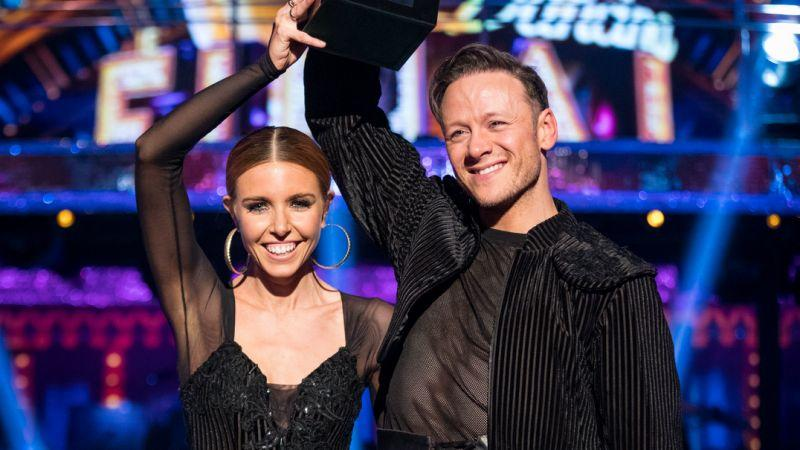 Stacey Dooley and Kevin Clifton won the show last year and are now a couple (Credit: BBC)