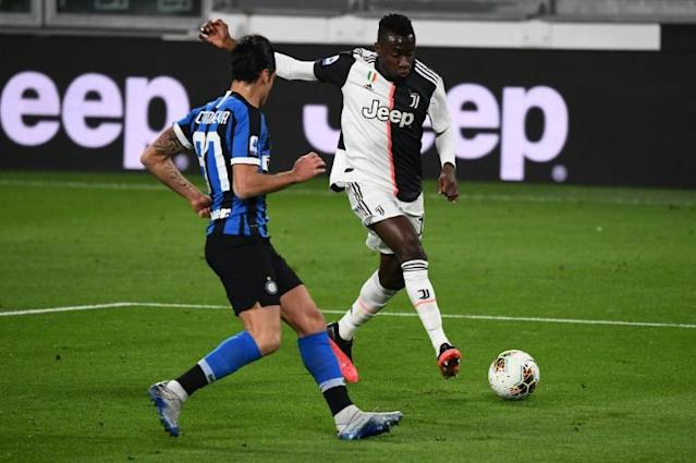 France's Blaise Matuidi joined Juventus in 2017 after a spell with Paris Saint-Germain (AFP Photo/Vincenzo PINTO )