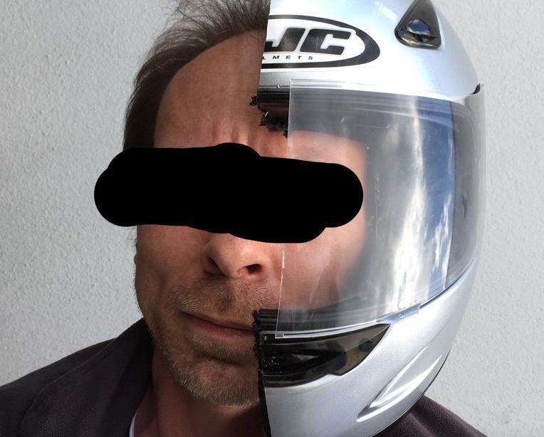 Half a Helmet for 34.50 Euros