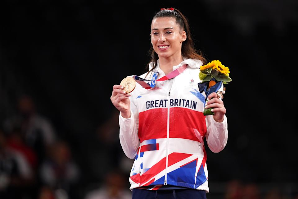 Bianca Walkden finished third (Mike Egerton/PA) (PA Wire)