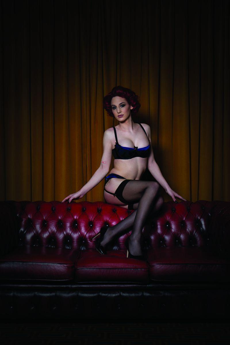 Transgender model Effie as she appears in the campaign. (Photo: Curvy Kate)