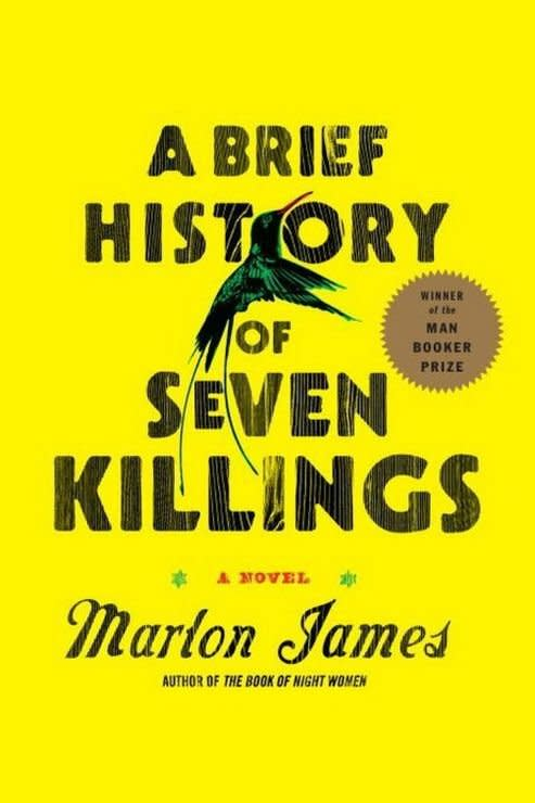 """<p><b>Buy it: </b><a href=""""https://www.amazon.com/Brief-History-Seven-Killings-Novel/dp/1594633940/"""" target=""""_blank""""><b>amazon.com</b></a></p> <p>Marlon James' 2015 Man Booker Prize- and American Book Award-winning novel is a dazzling, vivid dive into 1970s Kingston, Jamaica. It's an epic of the highest order, the plot of which hinges on the 1976 assassination attempt on the life of Bob Marley.</p> <p><b>Also by Marlon James:</b> <i>The Book of Night Women</i>, <i>John Crow's Devil</i></p>"""