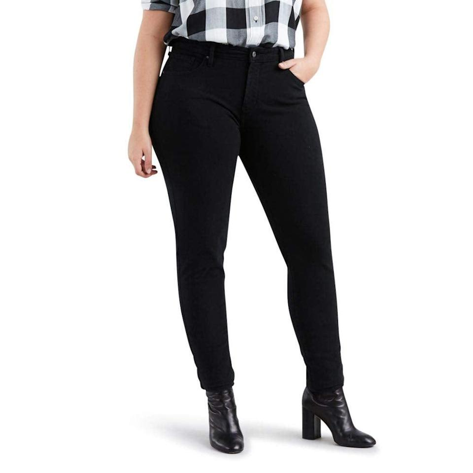 "<br><br><strong>Levi's</strong> Plus Size Premium 311 Skinny Jeans, $, available at <a href=""https://amzn.to/3iZsfv6"" rel=""nofollow noopener"" target=""_blank"" data-ylk=""slk:Amazon Fashion"" class=""link rapid-noclick-resp"">Amazon Fashion</a>"