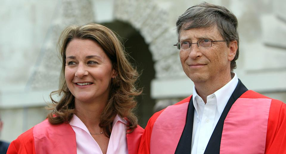 Bill and Melinda Gates photograpped in 2009.