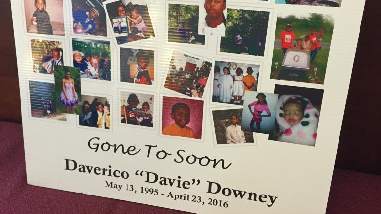 Police still hunting for clues 1 year after Daverico Downey homicide