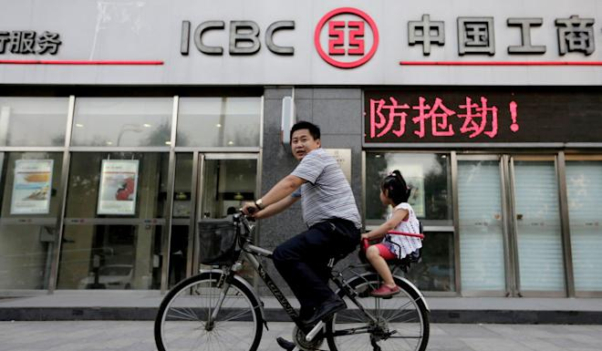 Moody's says that China is likely to maintain unwavering support for its four main banks, including ICBC. Photo: Reuters