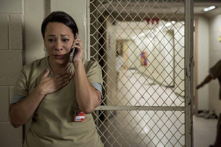 Selenis Leyva as Gloria in Netflix's Orange Is The New Black. (Credit: Netflix)