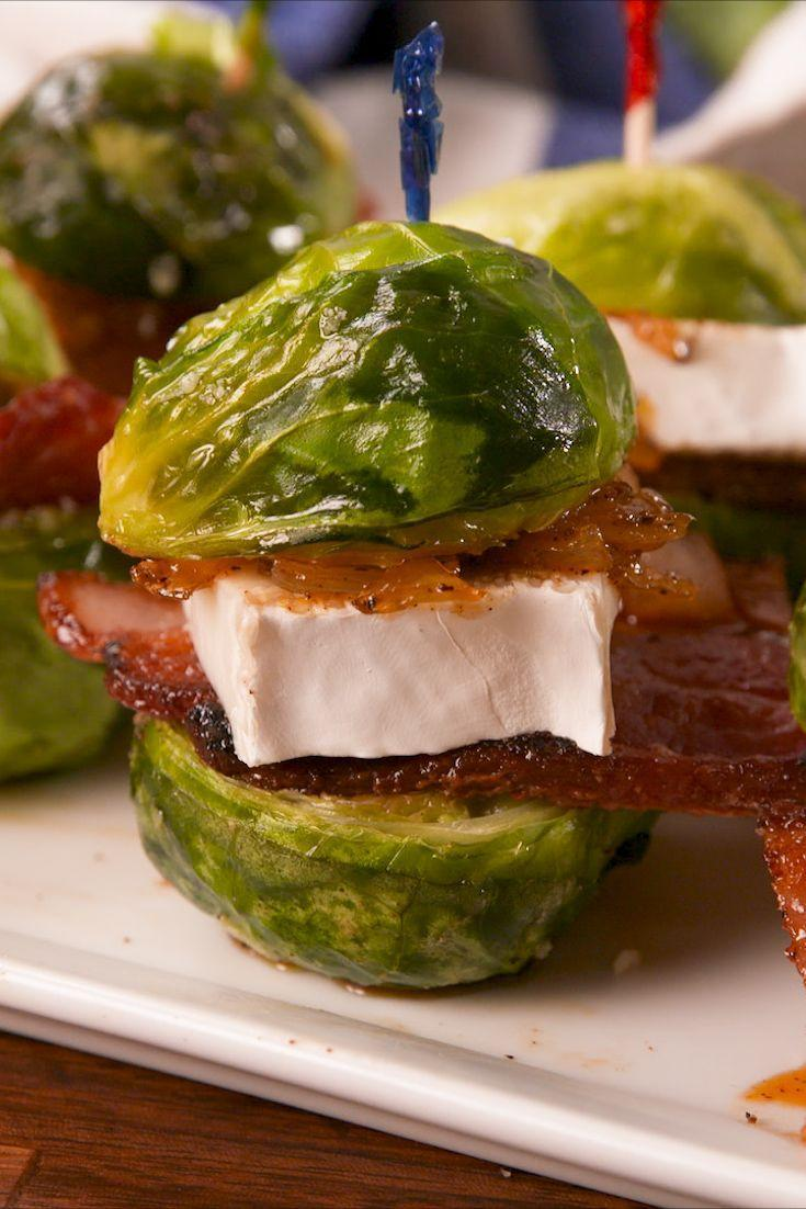 """<p>Brussels sprouts make the CUTEST slider buns.</p><p>Get the recipe from <a href=""""https://www.delish.com/cooking/recipe-ideas/recipes/a58296/brussels-sprouts-sliders-recipe/"""" rel=""""nofollow noopener"""" target=""""_blank"""" data-ylk=""""slk:Delish"""" class=""""link rapid-noclick-resp"""">Delish</a>. </p>"""
