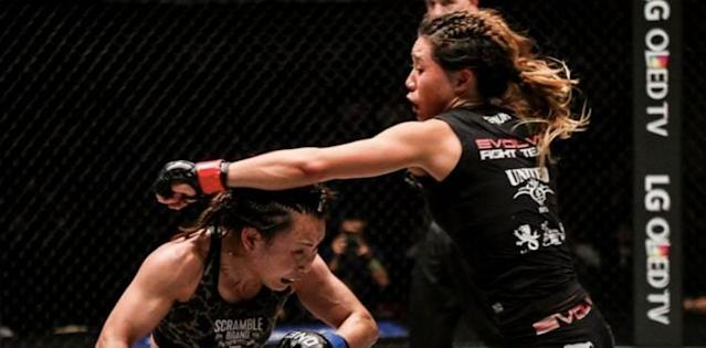 Angela Lee vs Mei Yamaguchi - First Fight