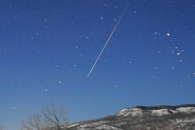 Spectacular display: The Quadrantids fireball meteors will be visible: NASA/Jimmy Westlake