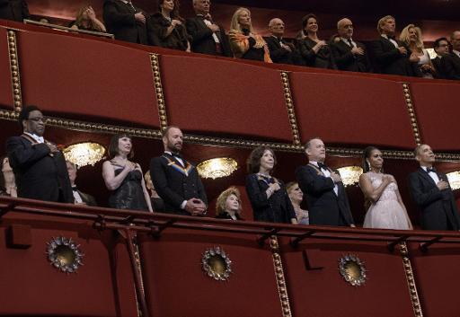 Sting feted at Kennedy Center Honors