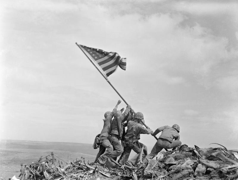 Iwo Jima Flag Raising Identities