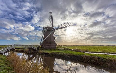 Friesland is a region shaped by people who moved the sea to build cities - Credit: RUDMER ZWERVER