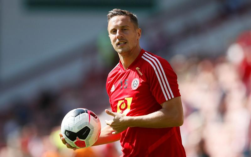 Phil Jagielka returns to Goodison Park today hoping for the kind of reception he would have liked when leaving Everton in the summer - REUTERS