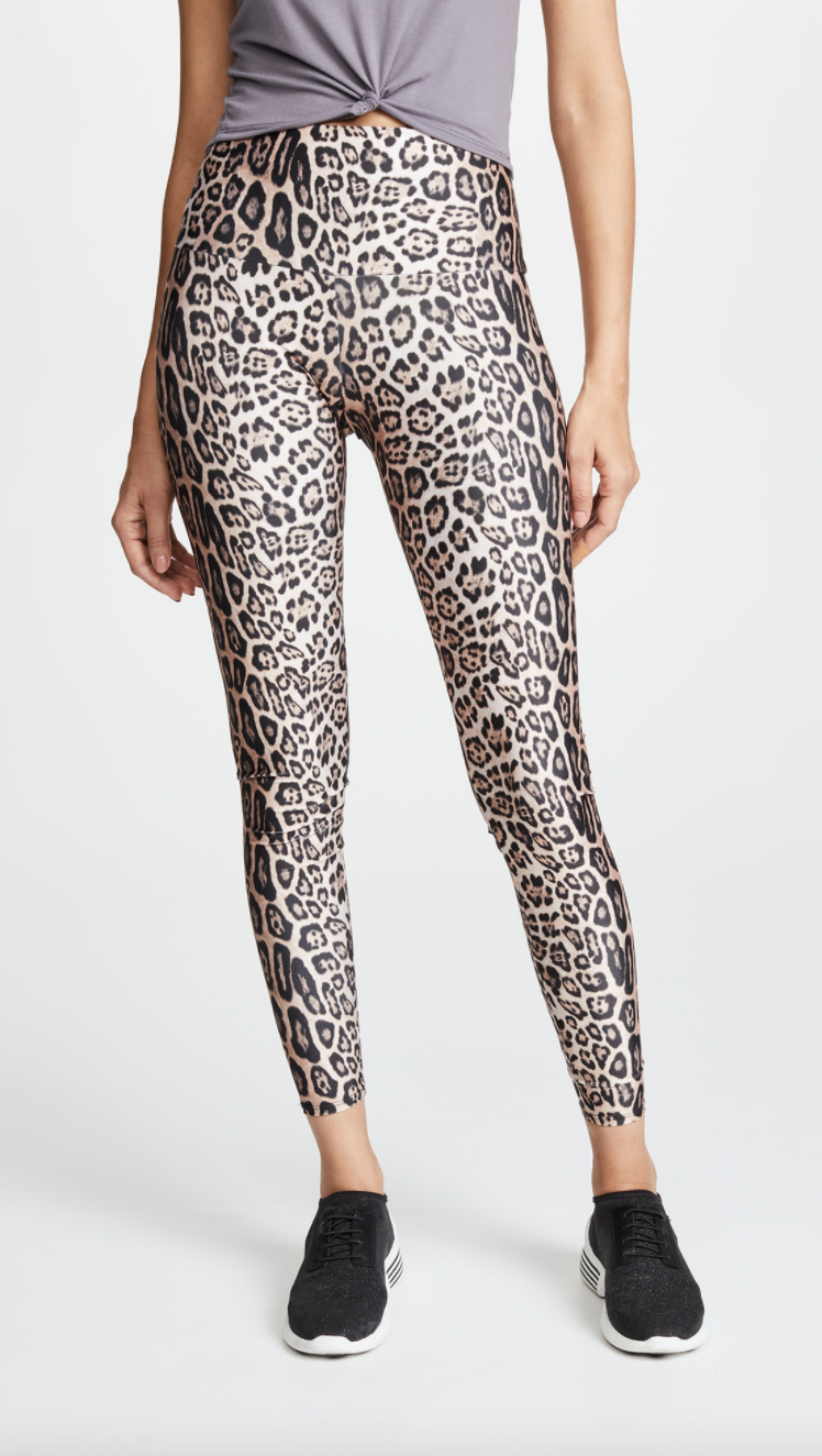 Onzie High Rise Leggings in Leopard (Photo via ShopBop)