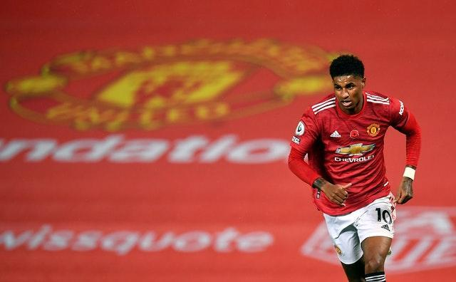 Manchester United striker Marcus Rashford has fronted a high-profile campaign to help combat child poverty