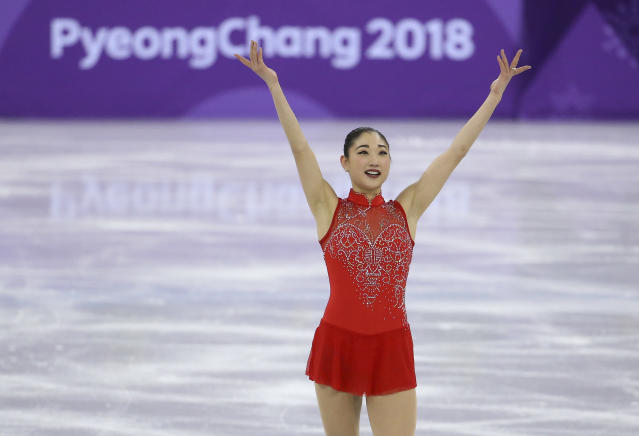 Mirai Nagasu made history on Monday, and now she wants to meet Leslie Jones. (Getty Images)