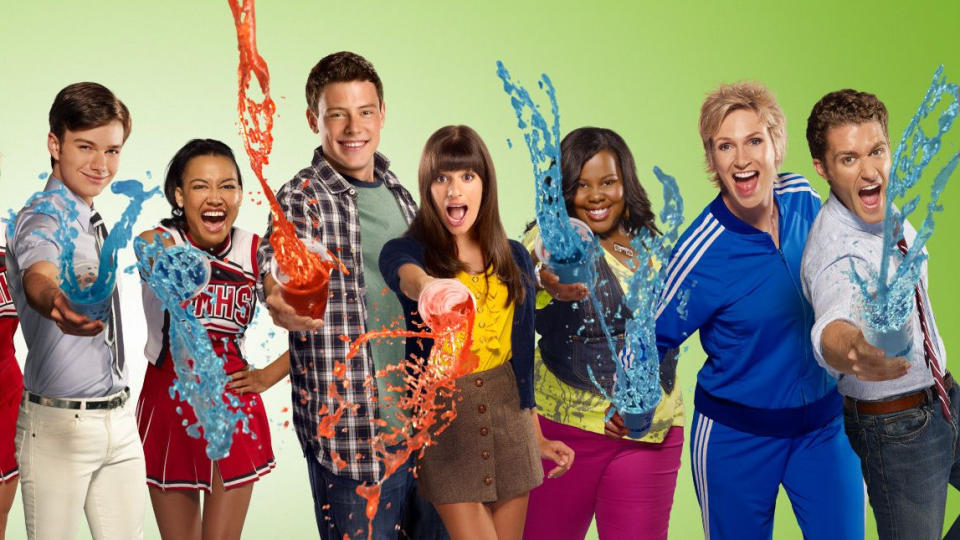 'Glee'. (Credit: Fox)