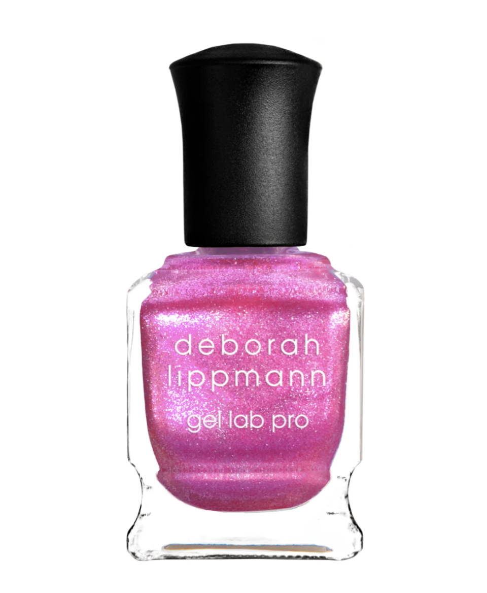 """<p>You have a larger than life, electric, and bold personality that everyone notices. That's why this bright pink nail polish with a pearly edge and silver metallic speckles is the perfect color for you to wear. This show stopping semi-sheer hue will show off your unique vibe and fiery disposition. </p> <p>To shop: $20, <a href=""""https://click.linksynergy.com/deeplink?id=93xLBvPhAeE&mid=1237&murl=https%3A%2F%2Fwww.nordstrom.com%2Fs%2Fdeborah-lippmann-gel-lab-pro-nail-color%2F6016720&u1=ISHereAretheNailColorsEachSignShouldWearforGeminiSeasonchenkNaiGal4513573202105I"""" rel=""""sponsored noopener"""" target=""""_blank"""" data-ylk=""""slk:nordstrom.com"""" class=""""link rapid-noclick-resp"""">nordstrom.com</a></p>"""