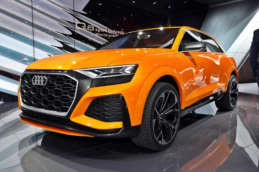 The Q8 is another big launch as this is a new performance-oriented SUV that slots in above the Q7. It is sportier and that explains its aggression and styling. Potentially, a hit SUV for sure.