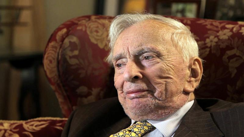 """This film image released by the Tribeca film Festival shows Gore Vidal in """"Gore Vidal: The United States of Amnesia"""" a film that will be shown at the Tribeca Film Festival running April 17 through April 28, 2013 in New York. (AP Photo/Tribeca Film Festival)"""