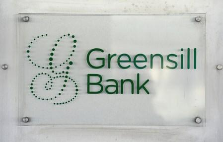 The Greensill Bank is pictured in downtown Bremen