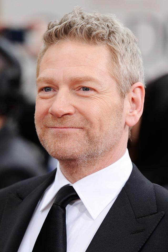 """It was a rare honour to play Sir Laurence Olivier,"" said Kenneth Branagh, Best Supporting Actor nominee for ""My Week With Marilyn."" ""To be recognised by the Academy for doing so is overwhelming. I'm absolutely thrilled."""