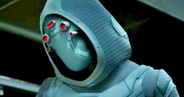 Ghost is played by Hannah John-Kamen in Ant-Man and The Wasp