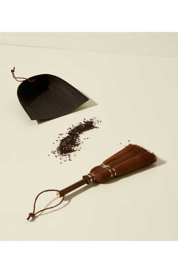 <p>Upgrade even the necessities with this <span>Goodee x Takada Whisk Broom &amp; Dustpan Set</span> ($100).</p>