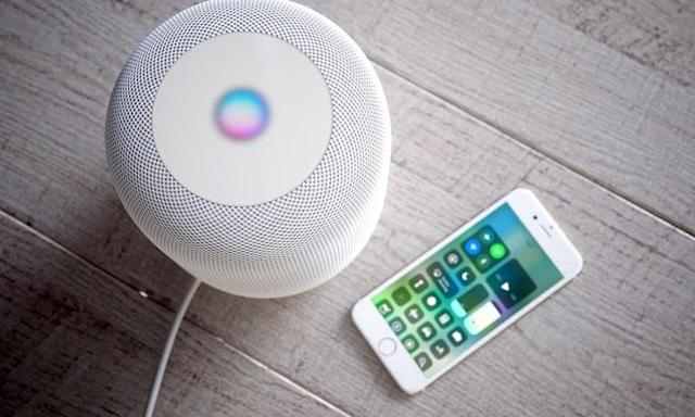 You can direct any sound source on your iPhone to play from the HomePod.