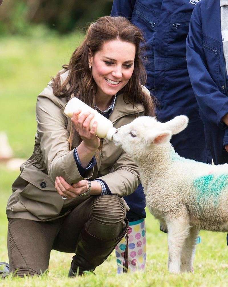 Kate Middleton Lives Out Her Dream of Being a Farmer