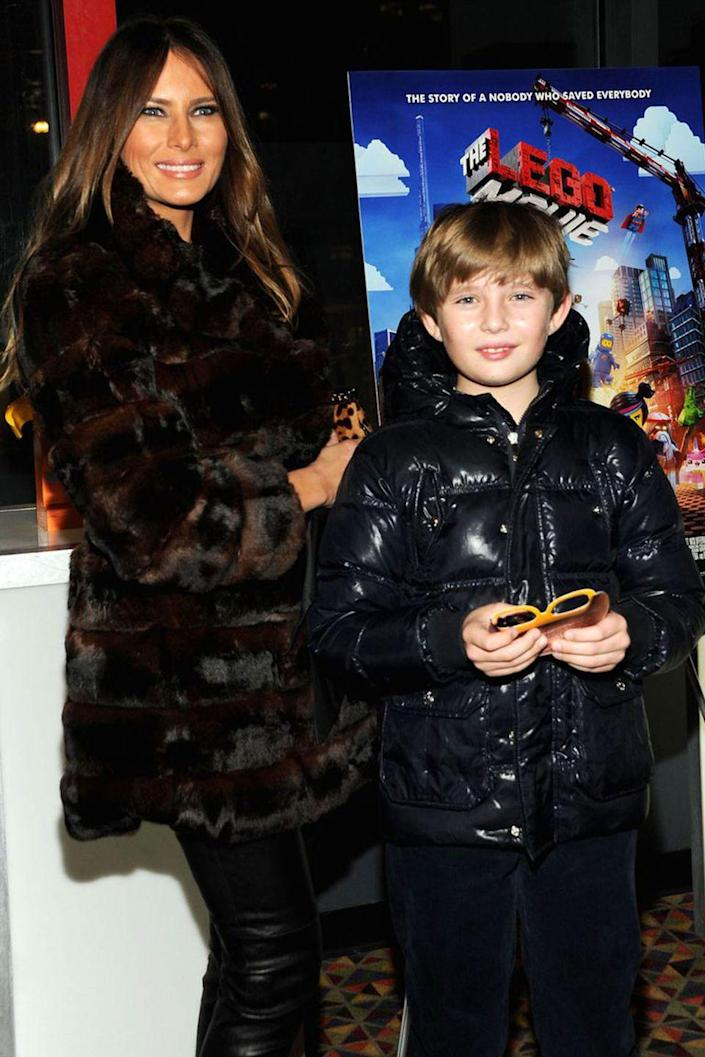 """<p>Melania <a rel=""""nofollow noopener"""" href=""""http://www.parenting.com/blogs/hip-mama/melania-trump-shares-her-1-parenting-tip-and-secrets-lasting-marriage#block-facebook-comments-facebook-comments"""" target=""""_blank"""" data-ylk=""""slk:says"""" class=""""link rapid-noclick-resp"""">says</a> that Barron loves creating entire cities and airports with blocks and LEGOs, and that she happily <a rel=""""nofollow noopener"""" href=""""https://www.redbookmag.com/life/a50274/melania-trumps-signature-meaning/"""" target=""""_blank"""" data-ylk=""""slk:plops down on the floor with him"""" class=""""link rapid-noclick-resp"""">plops down on the floor with him</a> to build these universes. </p>"""