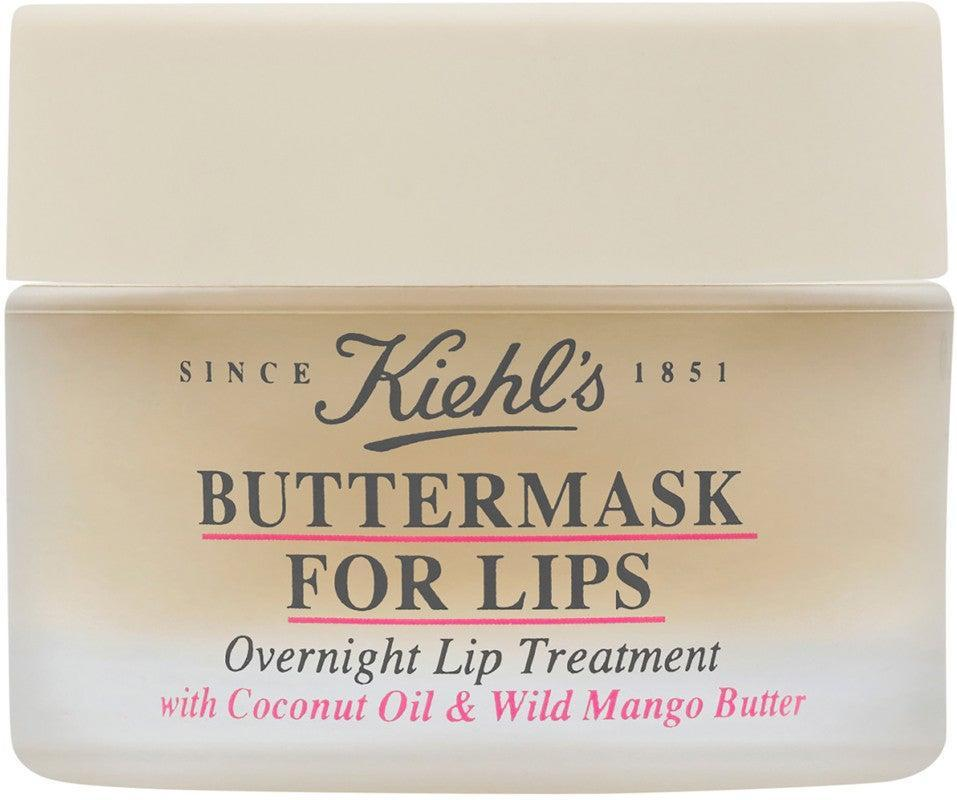 """<h3>Kiehl's Buttermask Intense Repair Lip Treatment</h3><br>With coconut and mango oil, this buttery lip treatment works to repair the moisture barrier overnight.<br><br><strong>Kiehl's Since 1851</strong> Kiehl's Since 1851 Buttermask for Lips, $, available at <a href=""""https://go.skimresources.com/?id=30283X879131&url=https%3A%2F%2Fwww.ulta.com%2Fbuttermask-lips%3FproductId%3Dpimprod2002961"""" rel=""""nofollow noopener"""" target=""""_blank"""" data-ylk=""""slk:Ulta"""" class=""""link rapid-noclick-resp"""">Ulta</a>"""