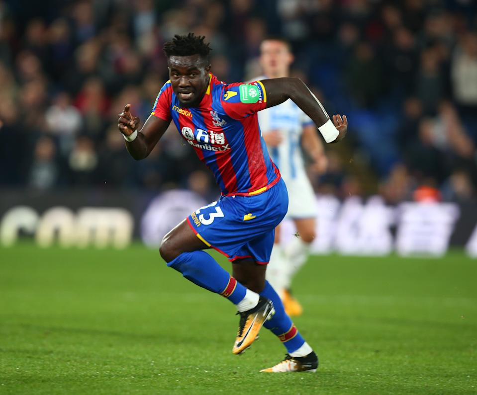Pape Souare made his Crystal Palace return after sustaining horrendous injuries nearly a year ago