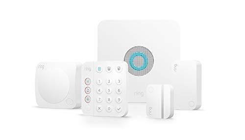 Ring Alarm 5-piece kit (2nd Gen) – home security system with optional 24/7 professional monit…