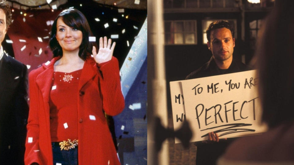 Martine McCutcheon has defended an infamous 'Love Actually' scene. (Credit: Universal)