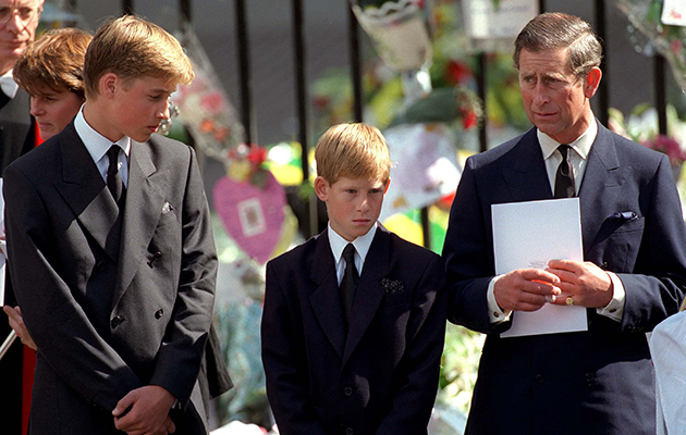 Prince Harry said they still can't believe the outpouring of love from the public after their mother died. Photo: Getty