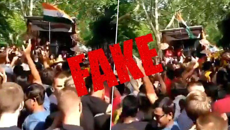 Fact Check: Viral Video Being Circulated as Foreigners Dancing on Lollypop Lagelu is Not From ICC Cricket World Cup 2019 in London