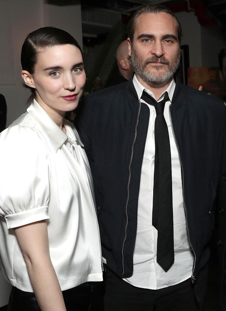 Rooney Mara and Joaquin Phoenix Talk Son for First Time as They Address Migrant Children Crisis