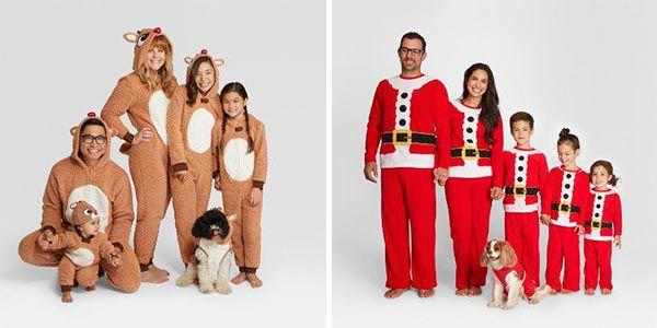 Family Christmas Pajamas With Dog.Target Is Selling Matching Holiday Pajamas For The Whole