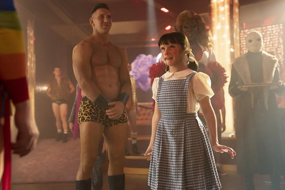 Dorothy attends a party where she learns an unsettling truth on season two, episode four.