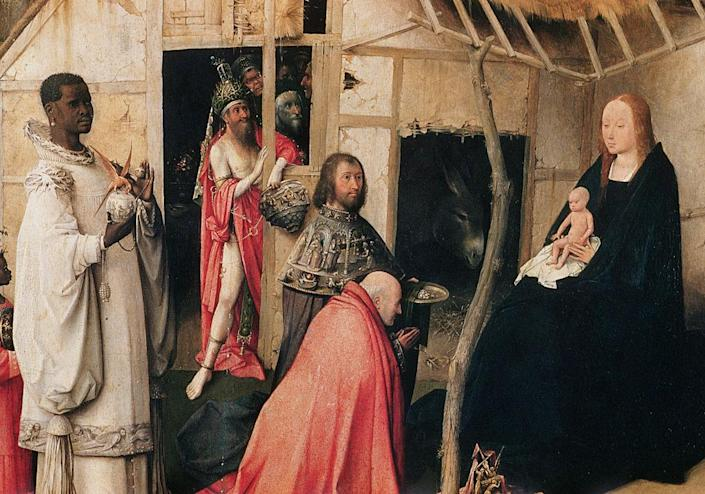 Detail of The Adoration of the Magi by Hieronymus Bosch