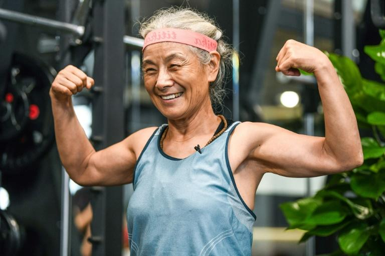 'Hardcore grandma' - ageing fitness buff proves hit in China