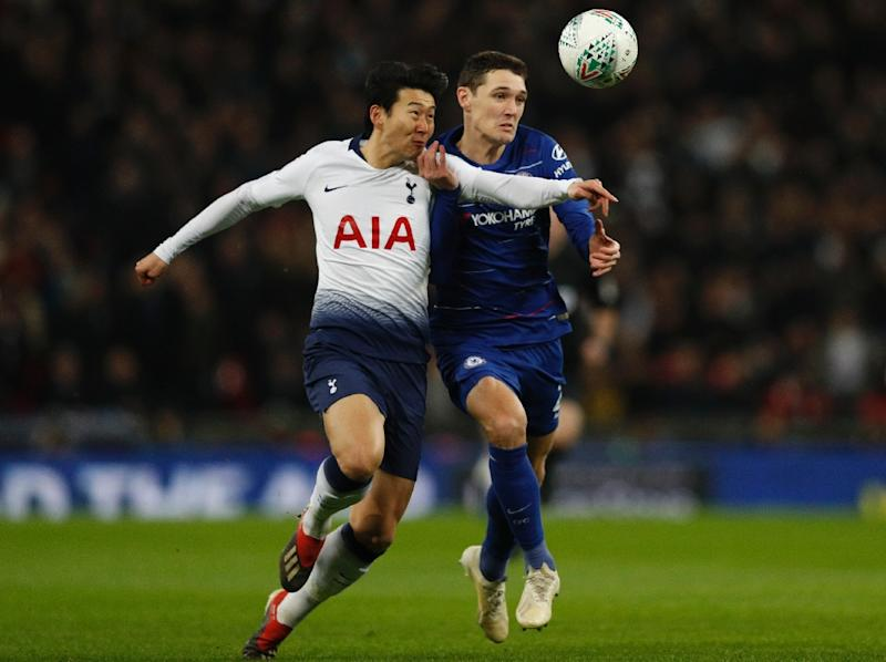 South Korea and the whole tournament are eagerly awaiting the arrival of striker Son Heung-Min from Tottenham Hotspur (AFP Photo/Adrian DENNIS)