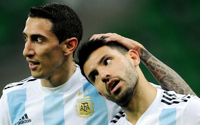 Sergio Aguero 'rushed to hospital after Man City forward faints during half time of Argentina's defeat by Nigeria'