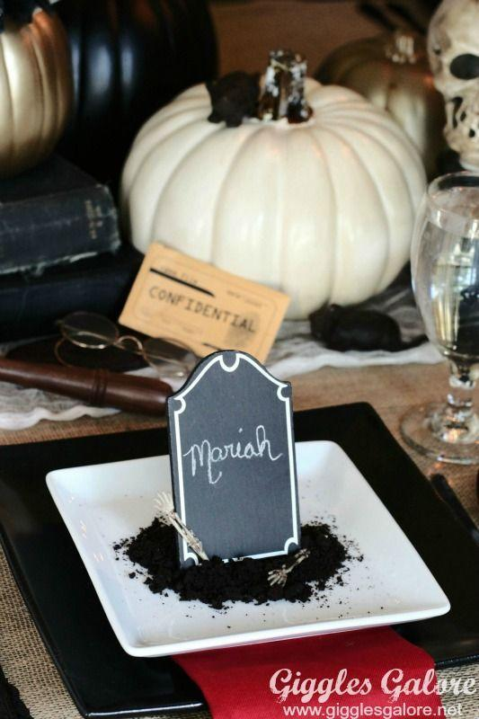 """<p>Who doesn't love a good whodunnit story? For a memorable party theme, serve up a little mystery along with dinner. It's a great way to keep guests engaged and entertained.</p><p><em>See more of this party at <a href=""""https://gigglesgalore.net/halloween-themed-murder-mystery-dinner-party"""" rel=""""nofollow noopener"""" target=""""_blank"""" data-ylk=""""slk:Giggles Galore"""" class=""""link rapid-noclick-resp"""">Giggles Galore</a>.</em></p><p><a class=""""link rapid-noclick-resp"""" href=""""https://www.amazon.com/Talking-Tables-Christmas-Mystery-Multicolour/dp/B07H3212S2/ref=sr_1_9?tag=syn-yahoo-20&ascsubtag=%5Bartid%7C10072.g.28787574%5Bsrc%7Cyahoo-us"""" rel=""""nofollow noopener"""" target=""""_blank"""" data-ylk=""""slk:SHOP MURDER MYSTERY GAMES"""">SHOP MURDER MYSTERY GAMES</a> </p>"""