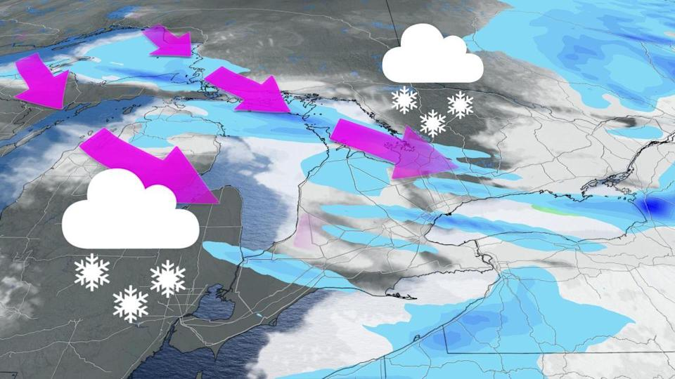 Southern Ontario will see some rain and snow before a New Year's storm