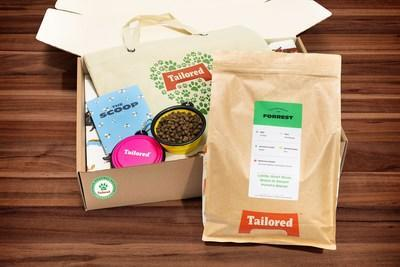 In celebration of earth month, pet parents can try Tailored Pet's Eco-Bundle: First time subscribers save 40% on their first 3 orders of Tailored Personalized Pet Food + 2 Free earth-friendly gifts.  Use code EARTH40 at checkout.